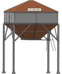 Бункера-накопители с плоским дном БНПД